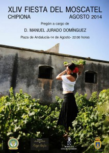 Presentado el cartel anunciador de la XLIV edición de la fiesta del moscatel que pregonará Manuel Jurado