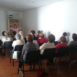 Una veintena de mayores asistieron al primer taller de promoción del envejecimiento activo que trató la educación sexual