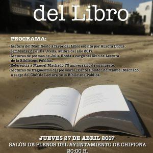 cartel dia del libro. Web