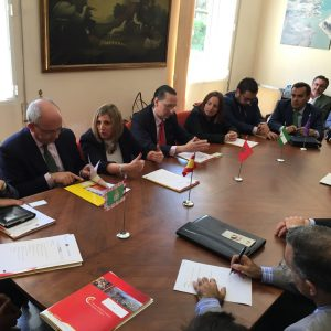 mision comercial en Marruecos_reunion en Tanger
