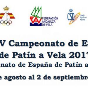 Chipiona se prepara para el Campeonato de España de Patín a Vela que se celebrará el 30 de agosto