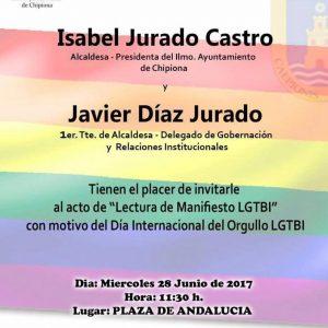 170627 Cartel Día Orgullo LGTBI
