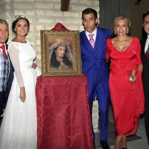 Antonio Montiel con la familia de José Luis