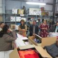 La Directora General de Participación Ciudadana y Voluntariado de la Junta de Andalucía visita Madre Coraje