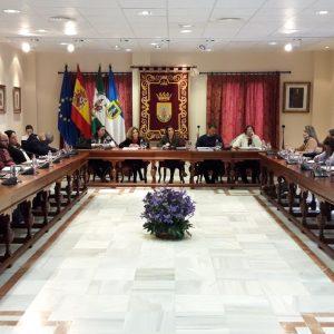 El pleno acuerda solicitar la declaración de zona catastrófica para el litoral de Chipiona a causa de la borrasca Enma