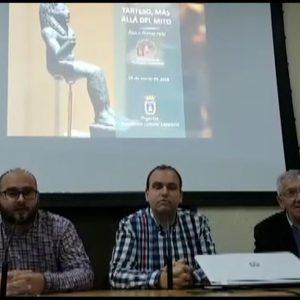 La Asociación Cultural Caepionis profundizó el sábado sobre Tartesos con una conferencia de Álvaro Gómez Peña