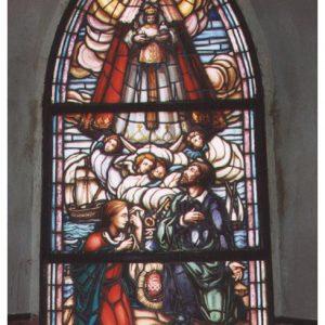 Las vidrieras del Santuario de Regla