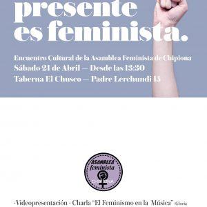 180419 Encuentro cultural asamblea feminista de Chipiona