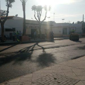 El Ayuntamiento de Chipiona ultima los trabajos de la segunda fase de las obras de mejora de la infraestructura hidráulica en la avenida de Rota