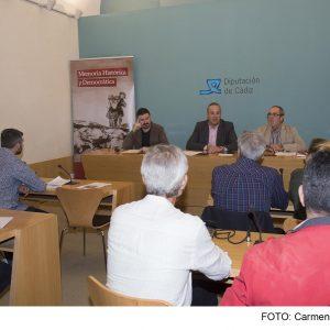 Diputación buscará nuevas fosas comunes en Grazalema, Rota, Jimena, Prado del Rey y Vejer