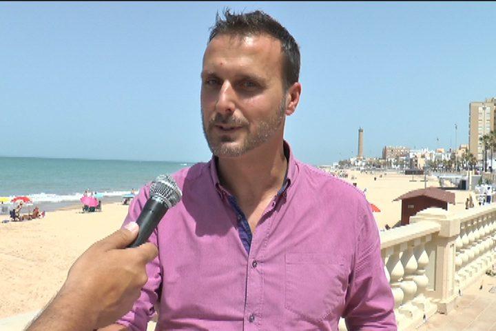Javier Díaz en playas