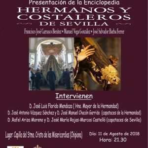 180801 Conferencia Hermanos y Costaleros de Sevilla