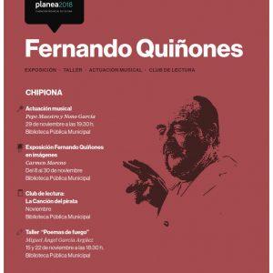 181107 Cartel Fernando Quiñones