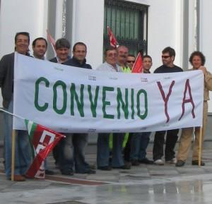 Los sindicatos municipales retoman sus medidas de protesta contra el equipo de gobierno en Chipiona con una concentración.