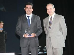 """El """"premio Andalucía Sociedad de la Información 2008"""", concedido a la Mancomunidad por su proyecto de innovación tecnológica para mejorar la gestión integral de la policía local del Bajo Guadalquivir"""