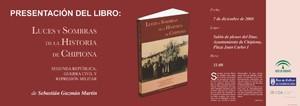 Un libro de Sebastián Guzmán aborda el tema de la Memoria Histórica en Chipiona.-