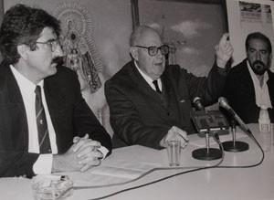 Calderón Quijano y Giménez Fernández aún esperan la nominación de sus calles  desde hace 13 años.-