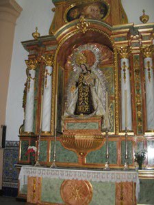 El domingo será inaugurado el retablo de la Virgen del Carmen en la Parroquia.-