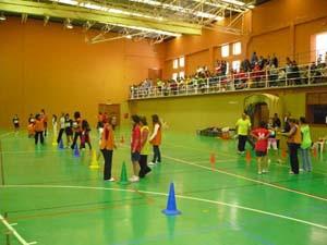 Fin de semana multitudinario en el complejo polideportivo local de Chipiona