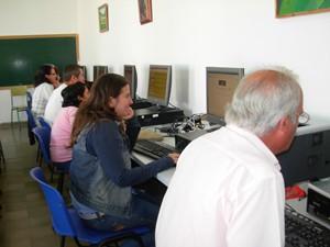 Secundaria e informática, parte de la oferta educativa del Centro de Educación de Adultos de Chipiona para el curso 2009/10