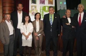 Juan Antonio Orenga, Moncho Monsalve y Miguel Gallardo participaron en los V Encuentros Prensa y Deporte  en Sevilla
