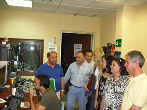 La diputada Rocío Arrabal visita Chipiona para informar del plan provincial de nuevas tecnologías
