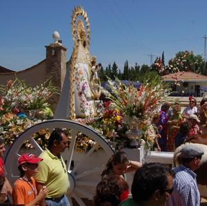 Chipiona vive este fin de semana su Romería del Pinar.-