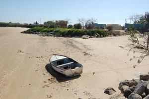 (Chipiona) IU consigue una mejora considerable en el tratamiento de la playa de Micaela con las obras de acceso al puerto
