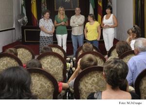 Un grupo de niños huérfanos rusos visitan Diputación de Cádiz