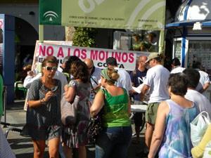"""La plataforma comarcal """"POR UN HORIZONTE SIN MOLINOS"""""""