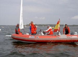 Los regatistas chipioneros en Helsinki luchan por traer un trofeo internacional para el deporte local.