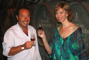 Presentada  Marina Bernal como pregonera del XXXIX Festival del Moscatel de Chipiona