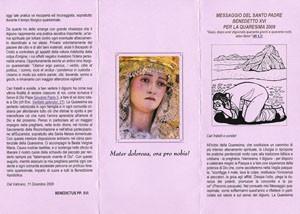 La Virgen de Los Dolores de Chipiona en Roma