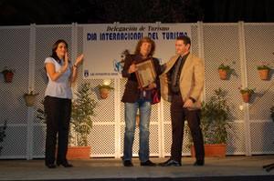 José Mercé y hosteleros, premiados en el  Día Internacional del Turismo(Chipiona)