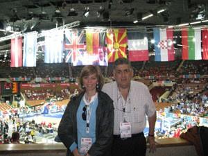 Miguel Gallardo y Marina Bernal entre los más de cien periodistas españoles siguen a la Selección de baloncesto en Katowice