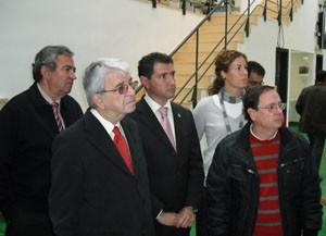 El director de la Agencia Pública de Puertos de Andalucía visita las instalaciones deportivas y pesqueras de Chipiona y Rota