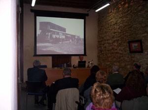 El Castillo de Chipiona acogió el sábado dos ponencias sobre la historia del Tren de la Costa