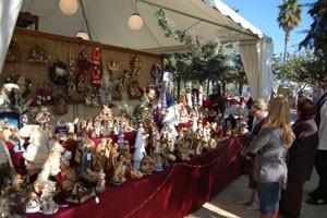 Éxito de participación en la II feria de artesanía y productos navideños