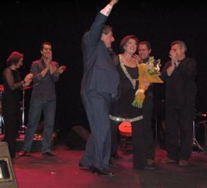 Gran éxito de Isabel Fayos en su concierto del Lope de Vega de Sevilla