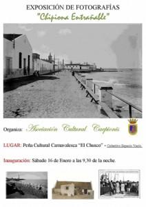 Interesante exposición de fotografías de Caepionis en  El Chusco.-