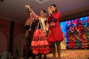 Mª Ángeles Mantel Zarazaga Perla del Carnaval 2010(Chipiona)
