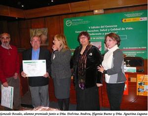 Premio de Educación al Consumo 2009  para el centro de educación permanente Mardeleva de Sanlúcar
