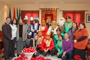 Gran éxito de la Cabalgata de Reyes de Chipiona