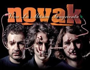 NOVAK regresa con su nuevo trabajo » Viva la Música Sangrienta»