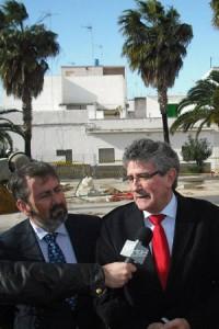 El consejero de Gobernación visita Chipiona