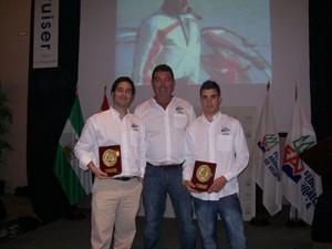Regatistas chipioneros galardonados por la Federación Andaluza de Vela