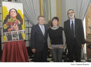 Ana Lorente personifica el Día de la Provincia de Cádiz en una mujer