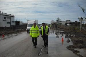 La Junta presenta el proyecto de adecuación como vía urbana del primer kilómetro de la A-491, de acceso a Chipiona