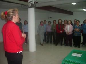 La Mancomunidad y la federación de asociaciones de mujeres del Bajo Guadalquivir desarrollan un ciclo de talleres de gimnasia terapéutica