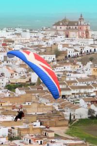 Intensa participación en la III Concentración de Paramotores de Las Cabezas de San Juan